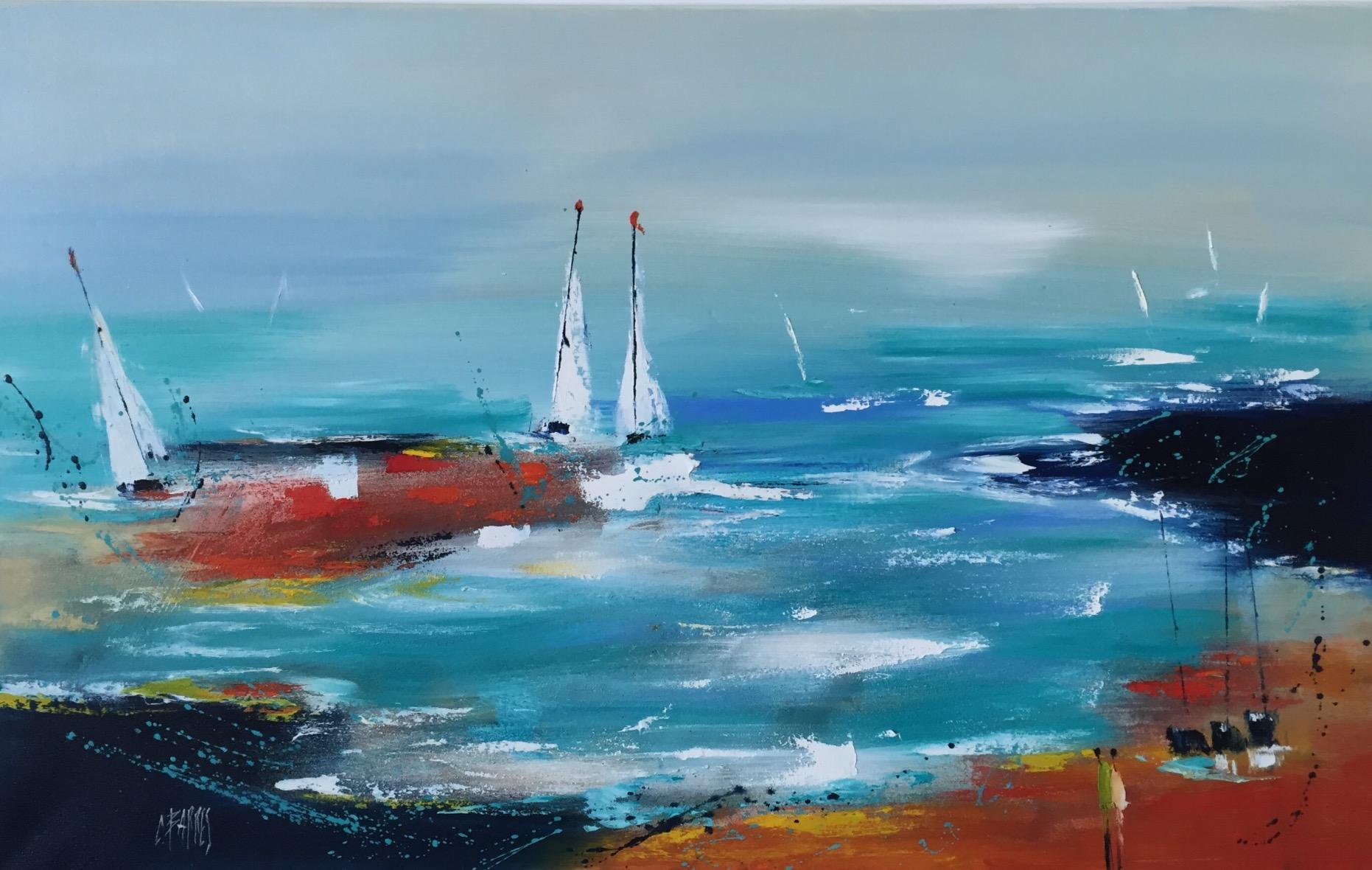 Tableau La Baie - série marine